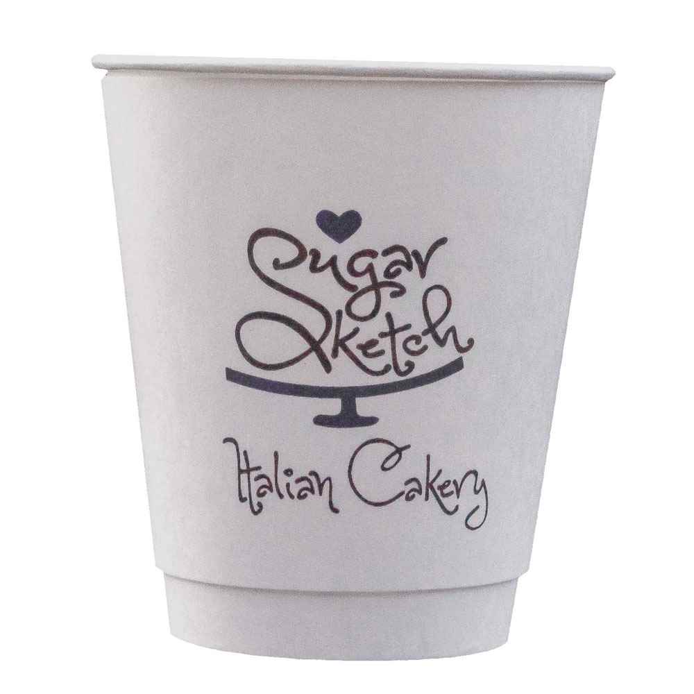 12-Oz. Insulated Paper Cups - Personalization Available