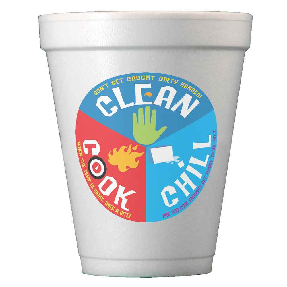 Digital 10-Oz. Foam Cups - Personalization Available