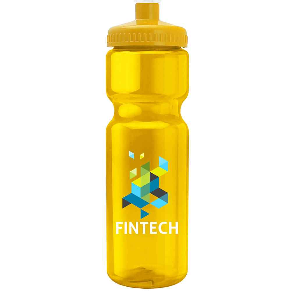 Full Color Transparent Sports Bottle 28-Oz. - Personalization Available