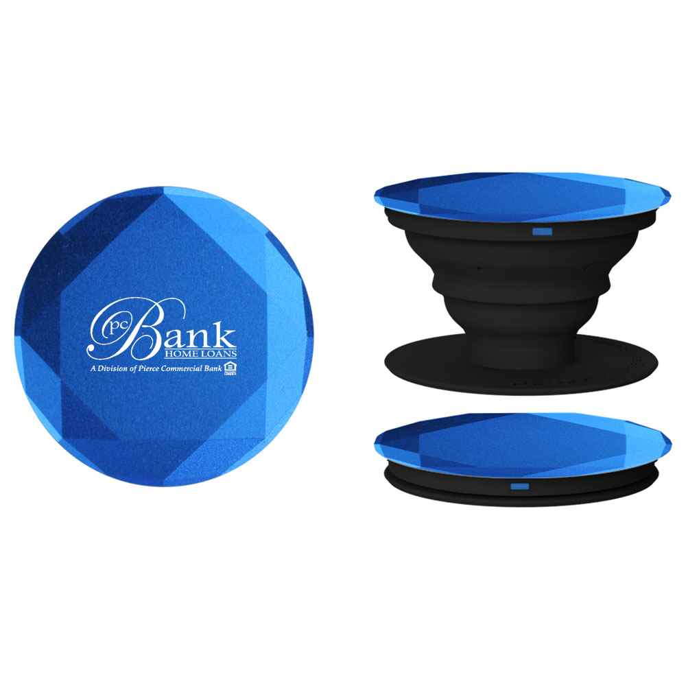 Diamond Aluminum PopSockets® PopGrip - Personalization Available