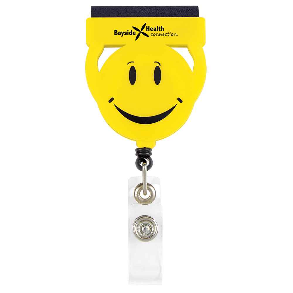 Screen Buddy Retractable Badge Holder - Personalization Available
