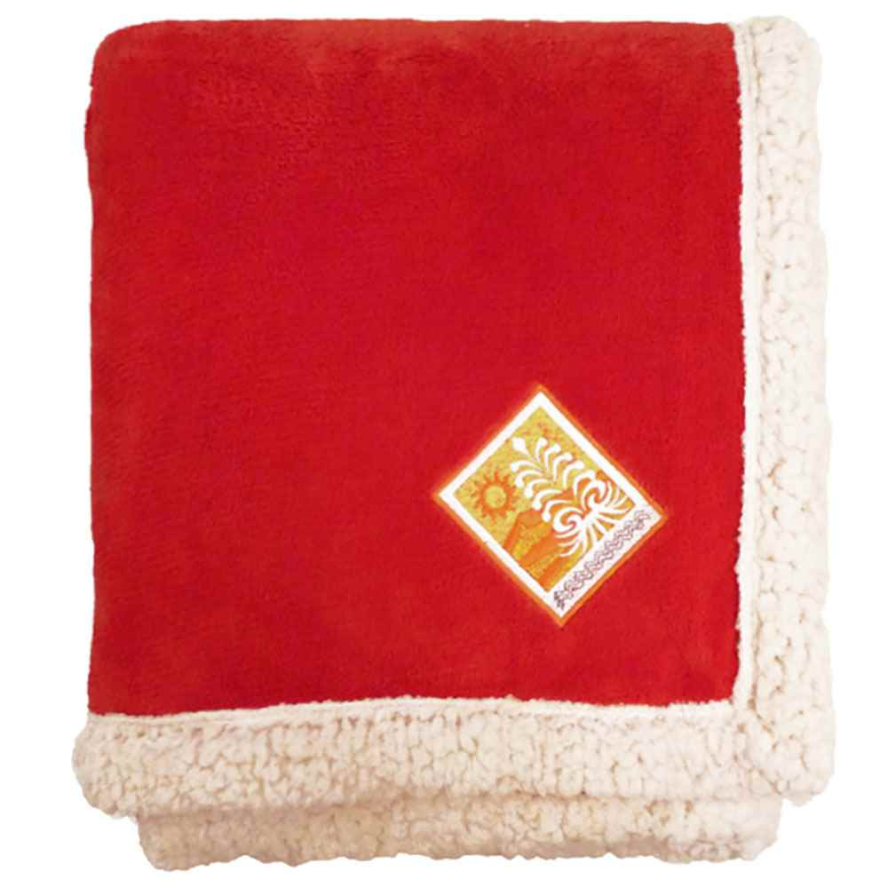 Deluxe Lambswool Lounge Throw - Personalization Available