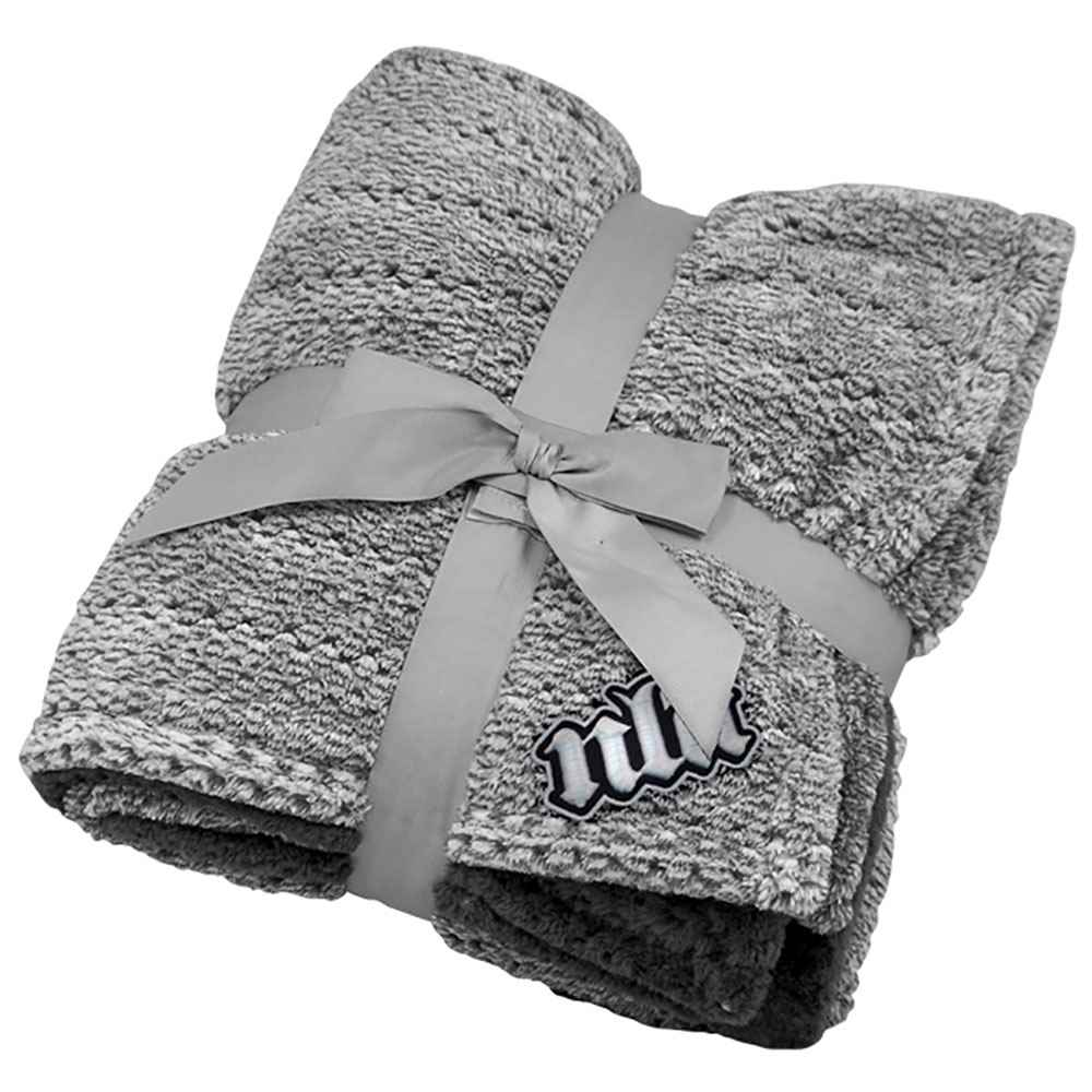 Interweaved Colored Flannel Blanket - Personalization Available