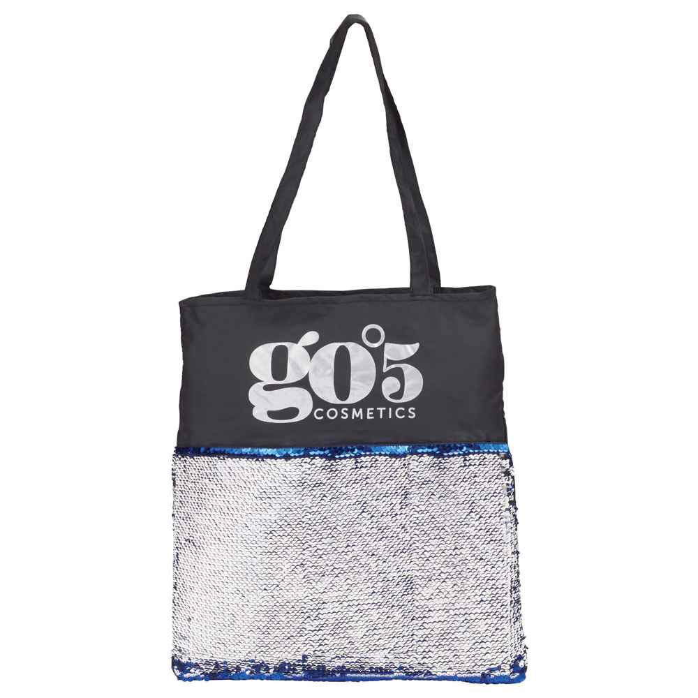 Mermaid Sequin Tote - Personalization Available