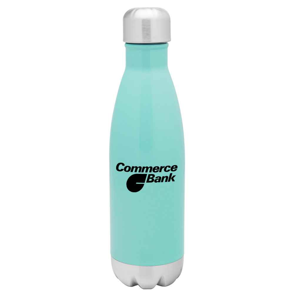 h2go® Force Stainless Steel Bottle 17-Oz. - Personalization Available