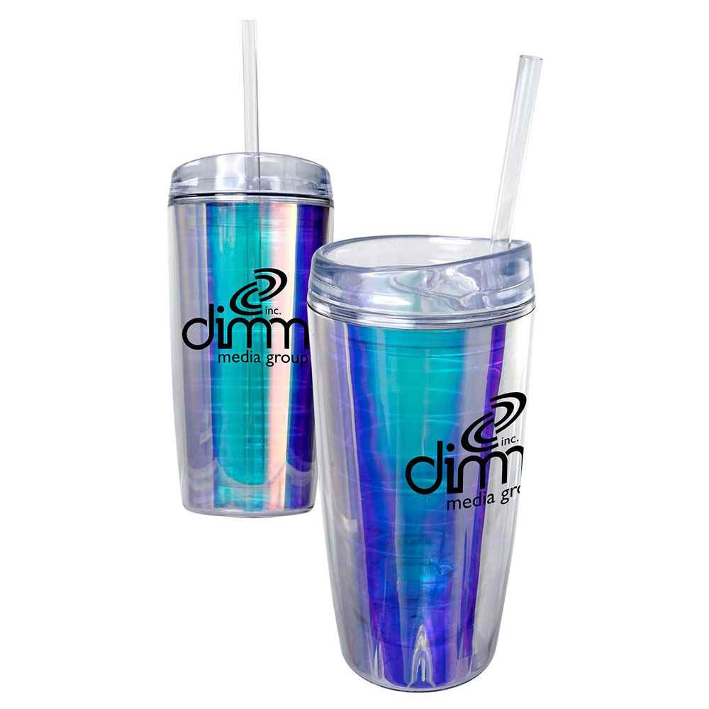 Rainbow Wave Mug 16-Oz. - Personalization Available