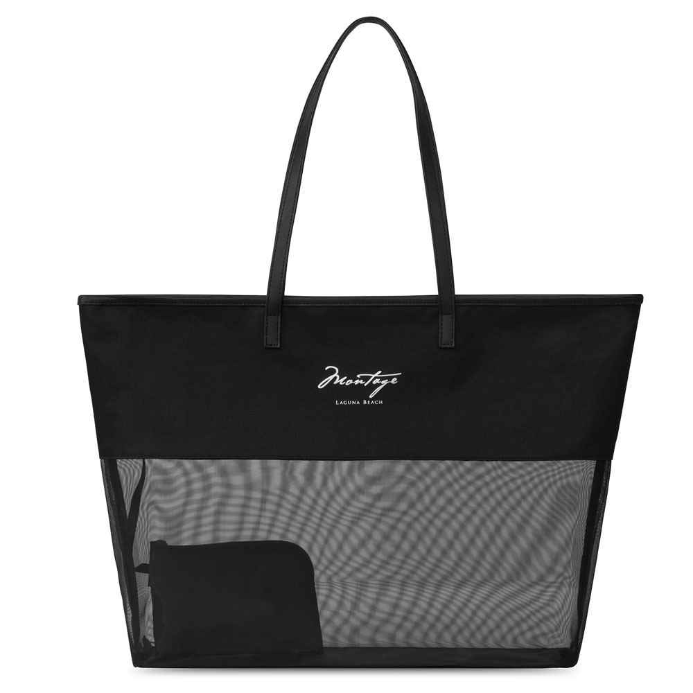 Atlantis Mesh Beach Tote - Personalization Available