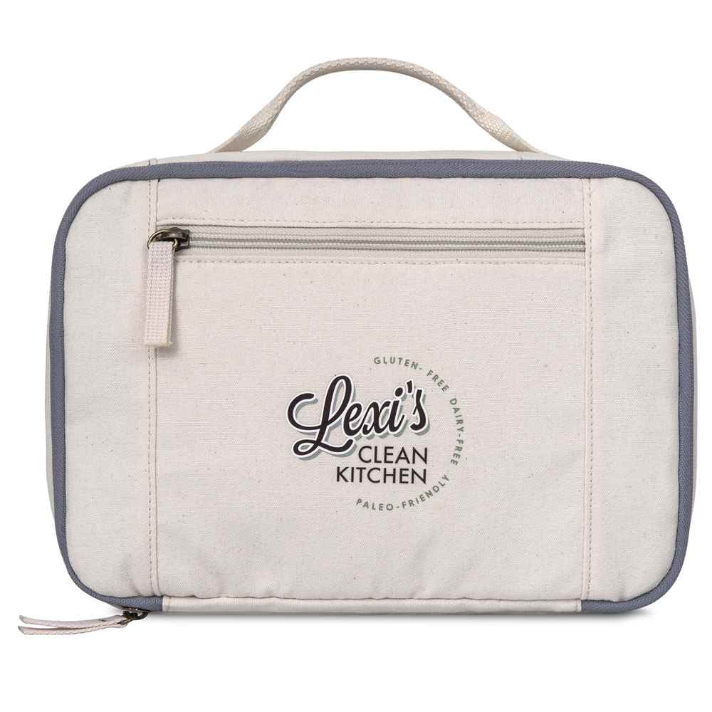 Caden Cotton Lunch Cooler - Personalization Available