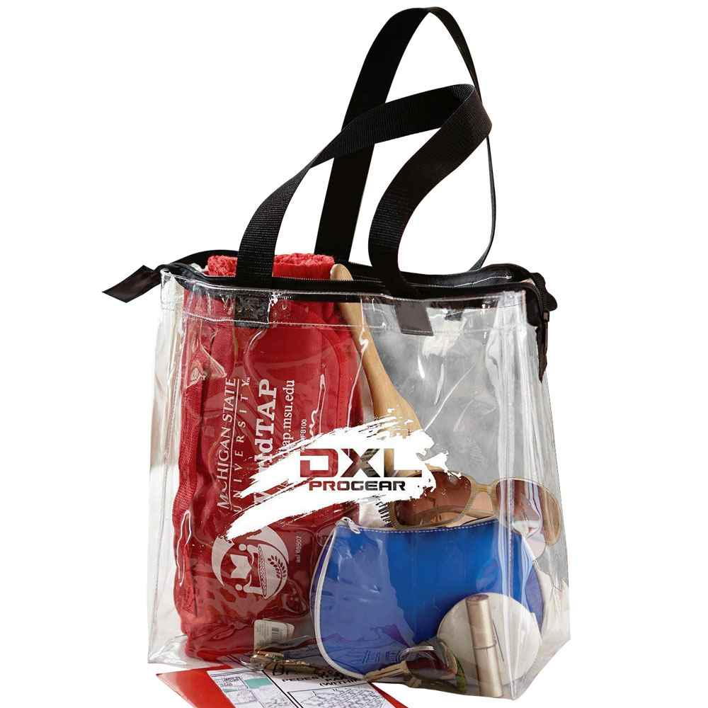 The Pro Stadium Tote With Zipper - Personalization Available