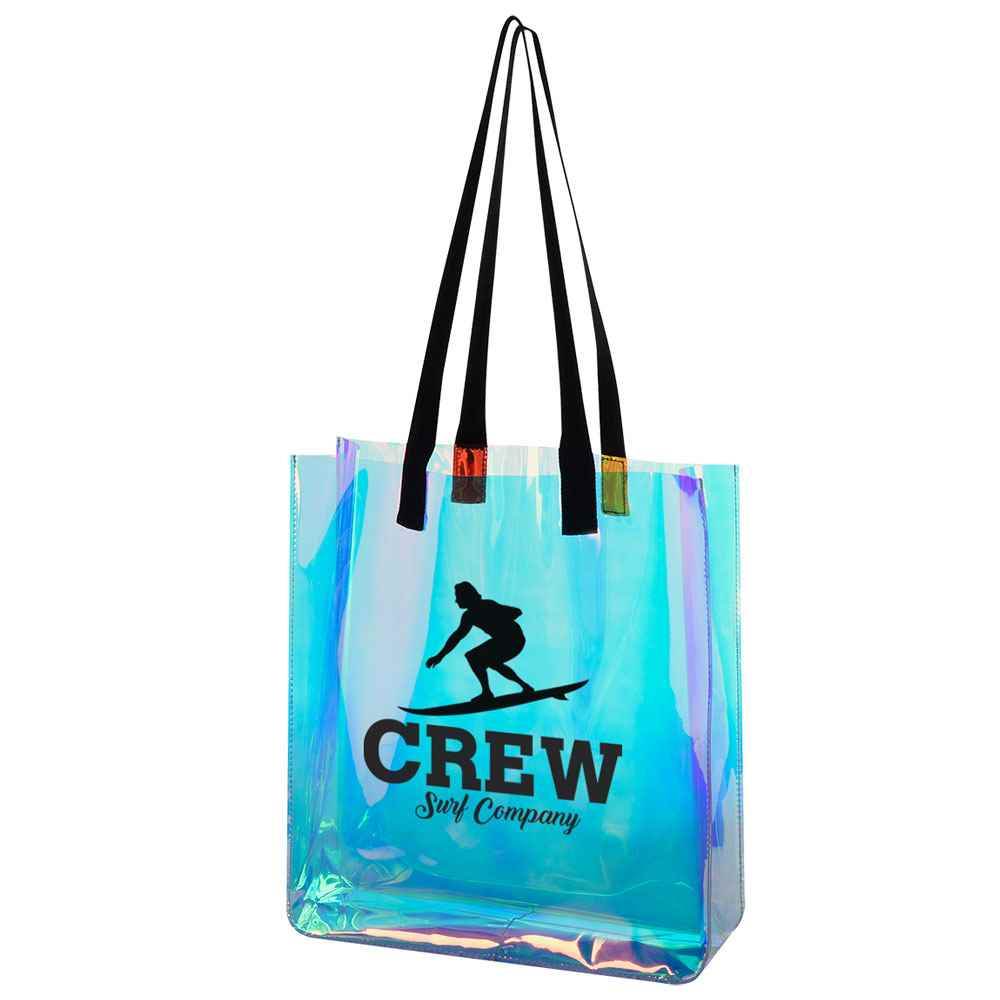 Hologram Translucent Tote Bag - Personalization Available