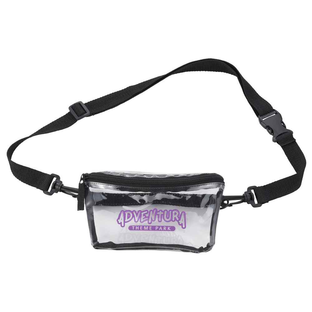 Clear Tinted Convertible Waist Pack - Personalization Available