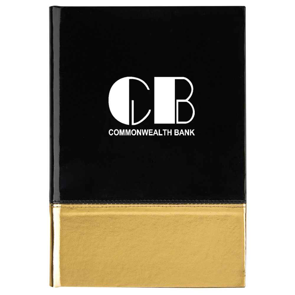 Metallic Two-Tone Journal - Personalization Available