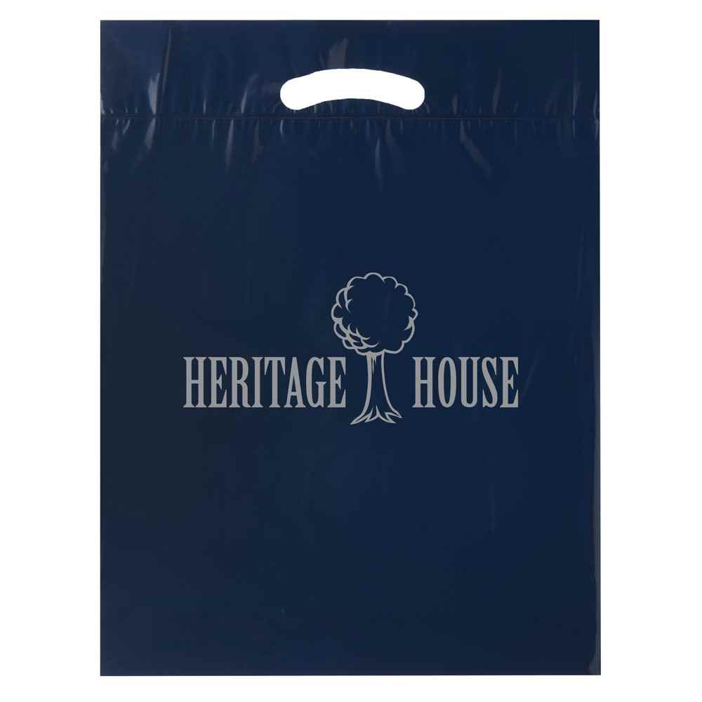 Fold-Over Reinforced Die-Cut Bag - Personalization Available
