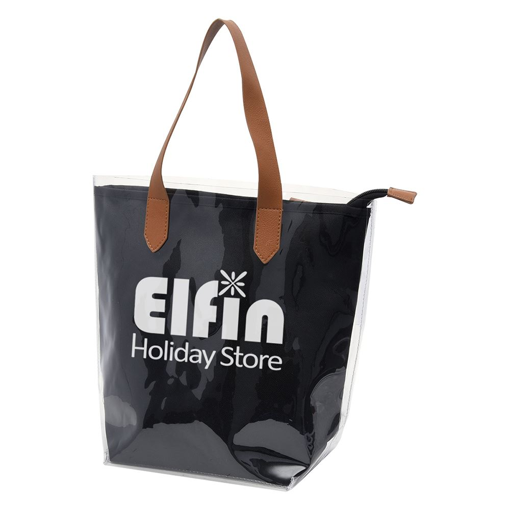 Accord Clear Tote Bag With Pouch - Personalization Available