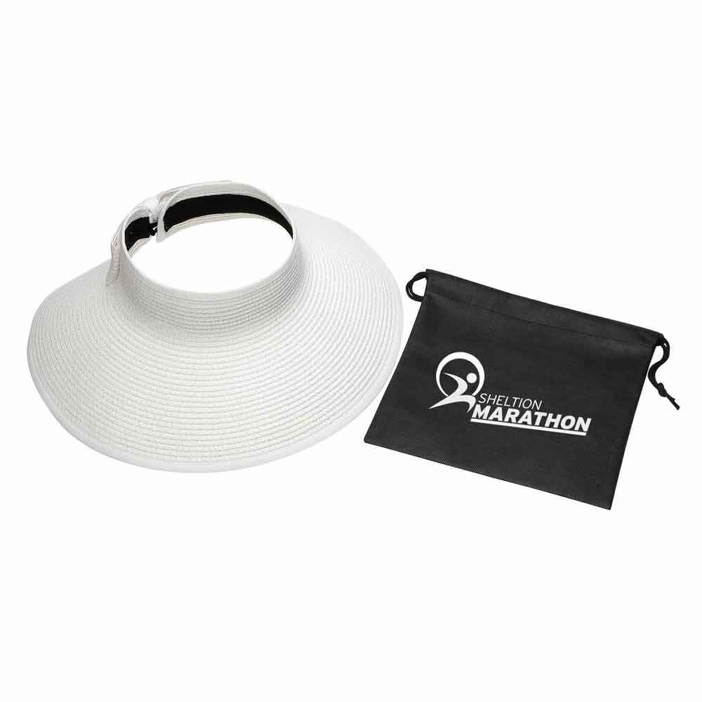 Beachcomber Roll-Up Sun Visor with Pouch - Personalization Available