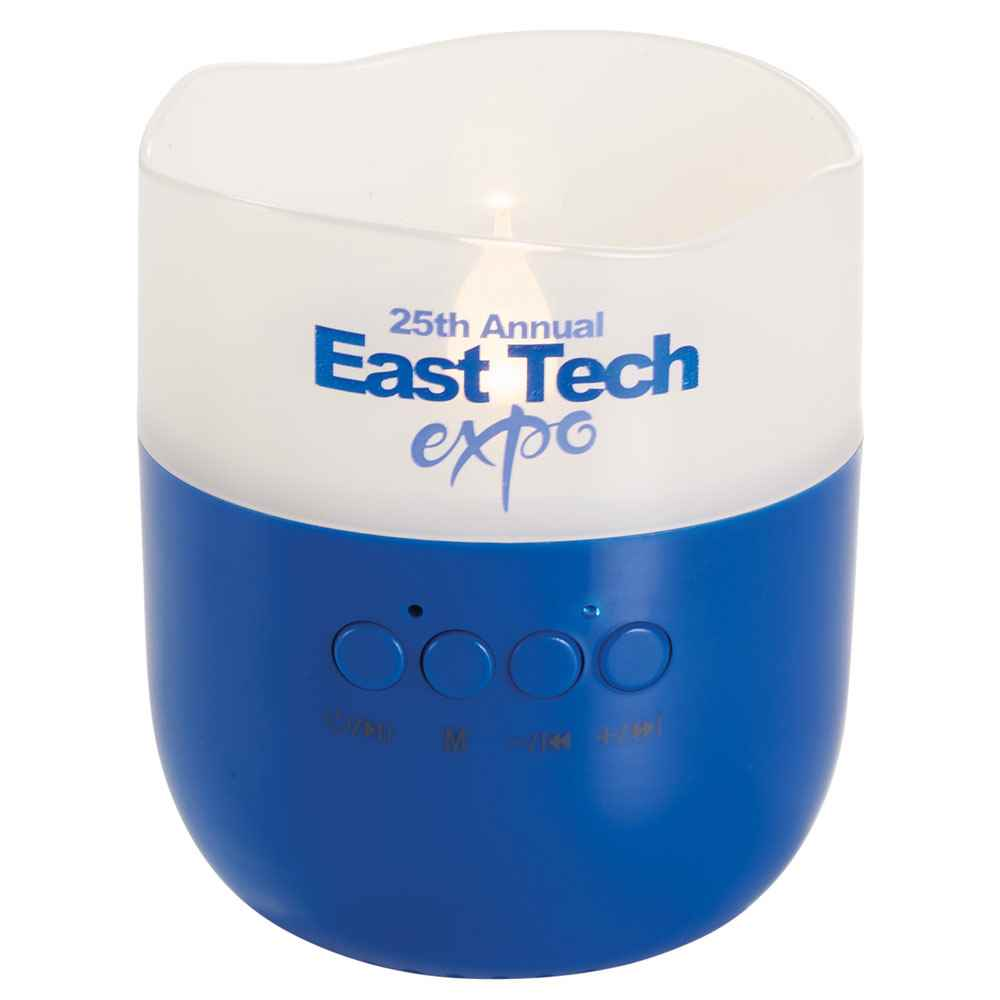 Candle Light Bluetooth® Speaker - Personalization Available