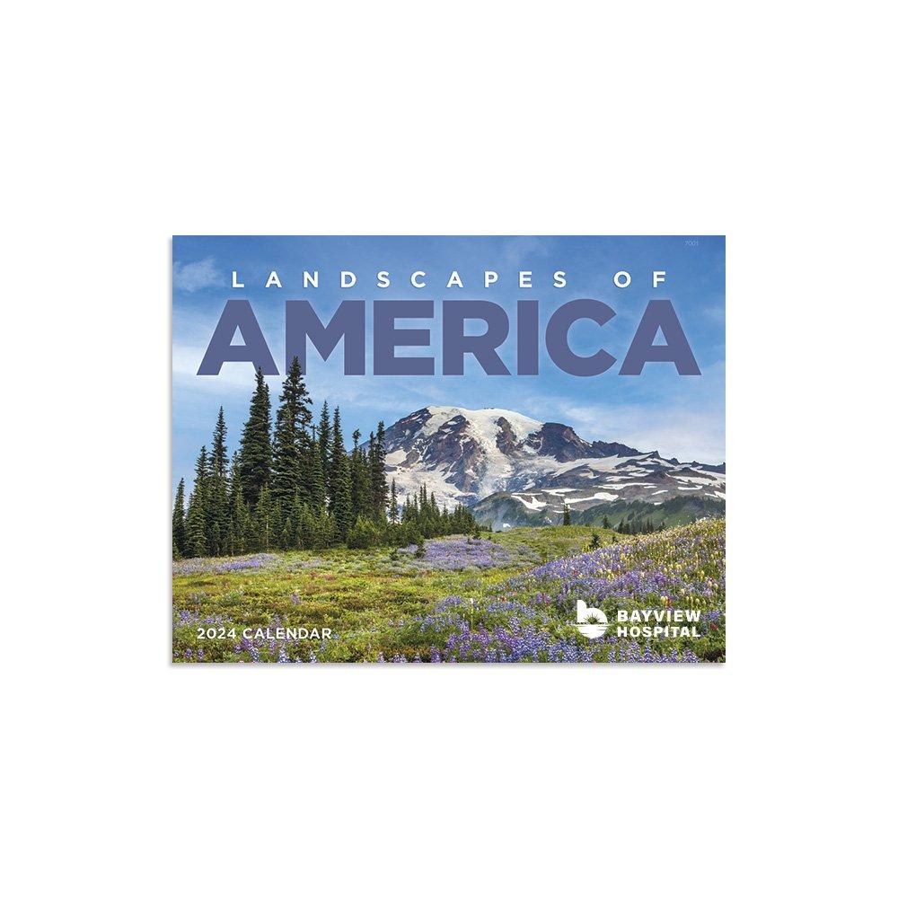 Landscapes of America 2021 Calendar - Window - Add Your Personalization