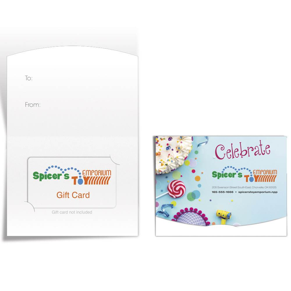 Gift Card Holder - Personalization Available