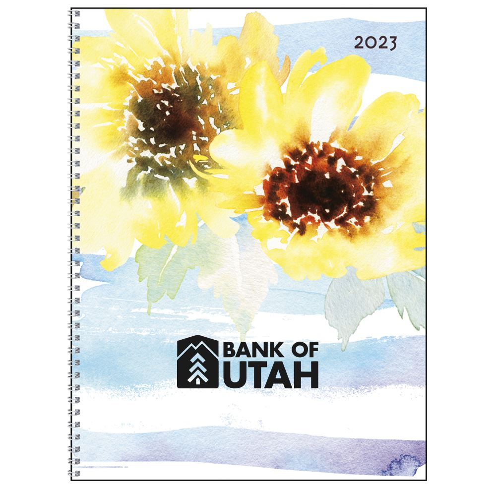 2022 Monthly Happenings Spiral Planner - Personalization Available