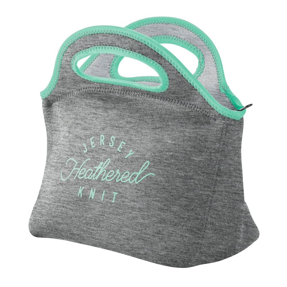Klutch Heathered Jersey Knit-Neoprene Lunch Bag - Personalization Available