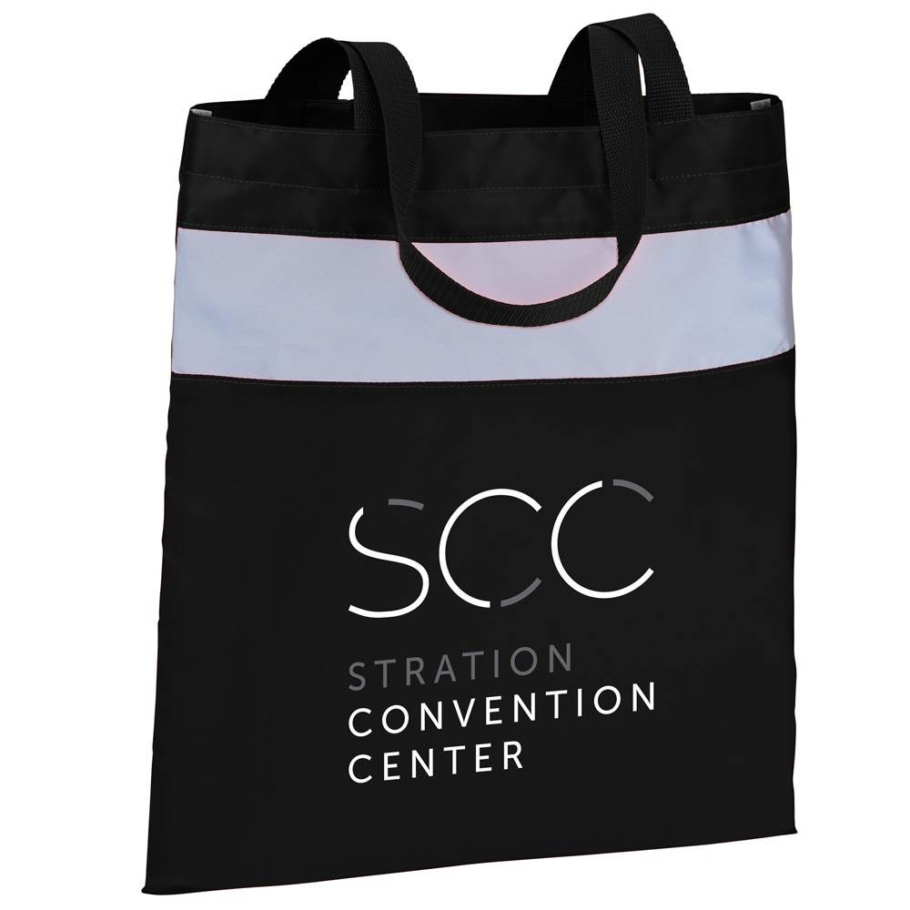 Reflective Convention Tote - Personalization Available