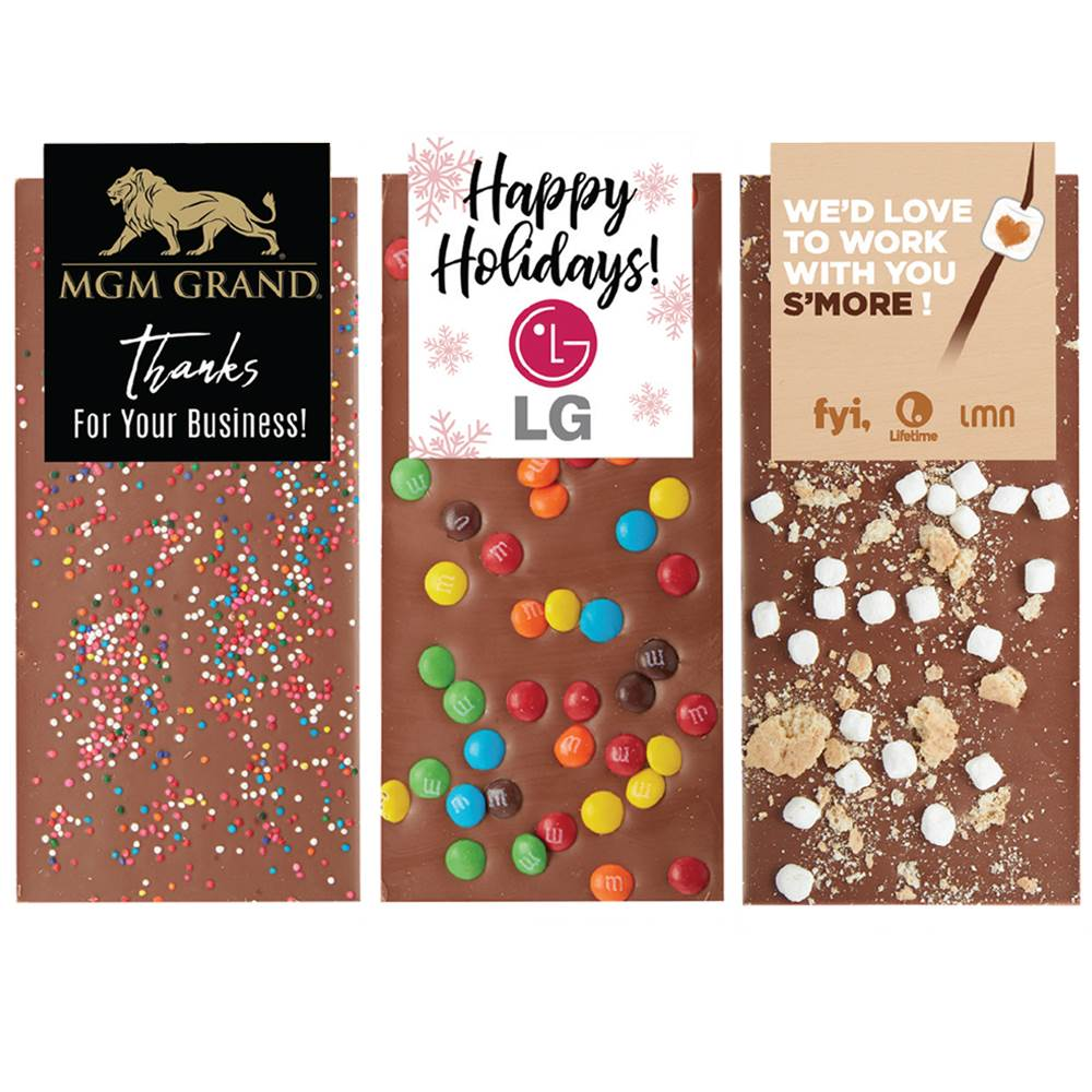 Belgian Chocolate Bar - Personalization Available