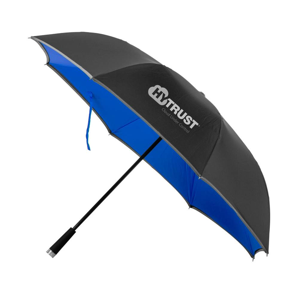 Reflective Reversible Light-Up Umbrella - Personalization Available