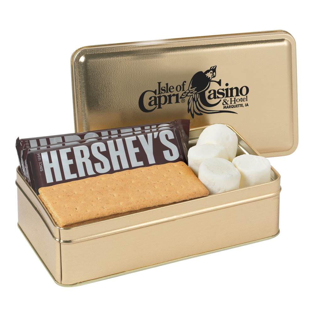 S'Mores Kit Tin - Personalization Available