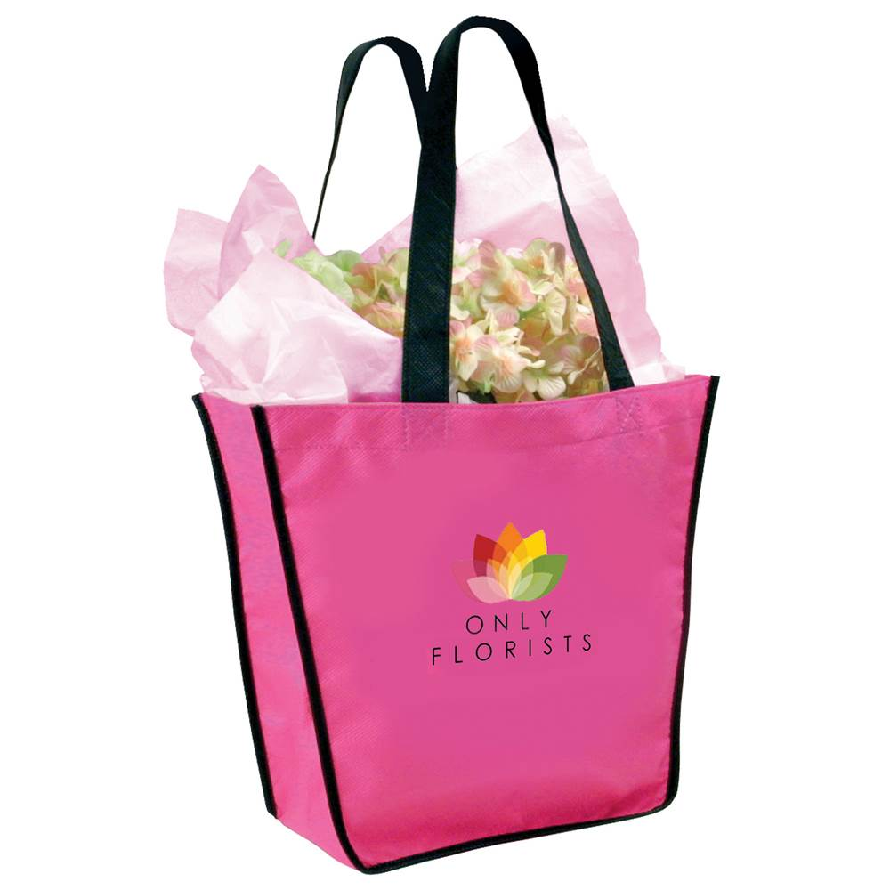 Fiesta Tote Bag, Full Color Digital Personalization Available