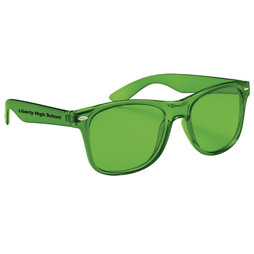 Translucent Malibu Sunglasses - Personalization Available