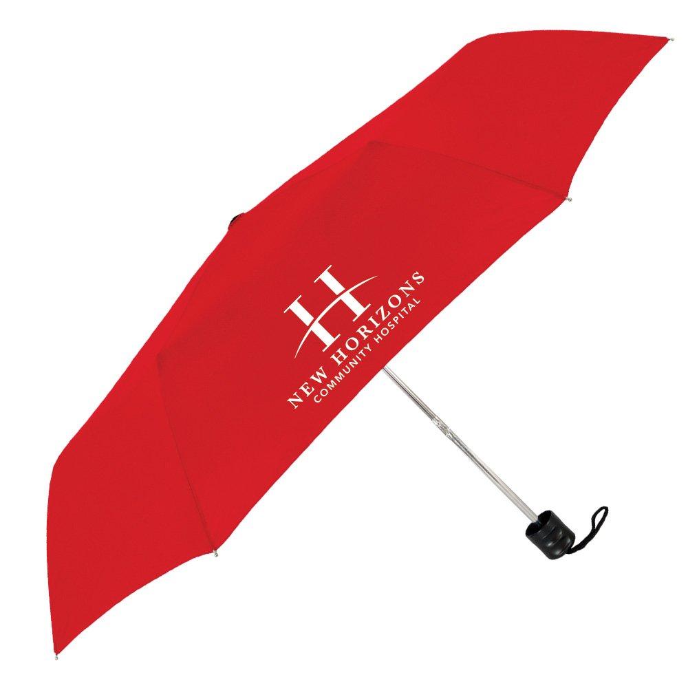 The Compact Econo Folding Umbrella - Personalization Available