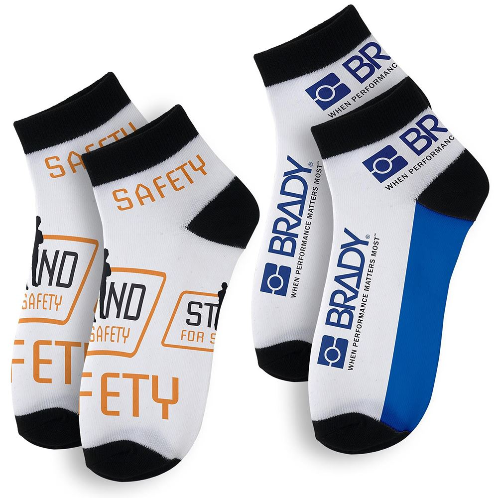 Vibrant Custom Ankle Socks - Full-Color Personalization Available
