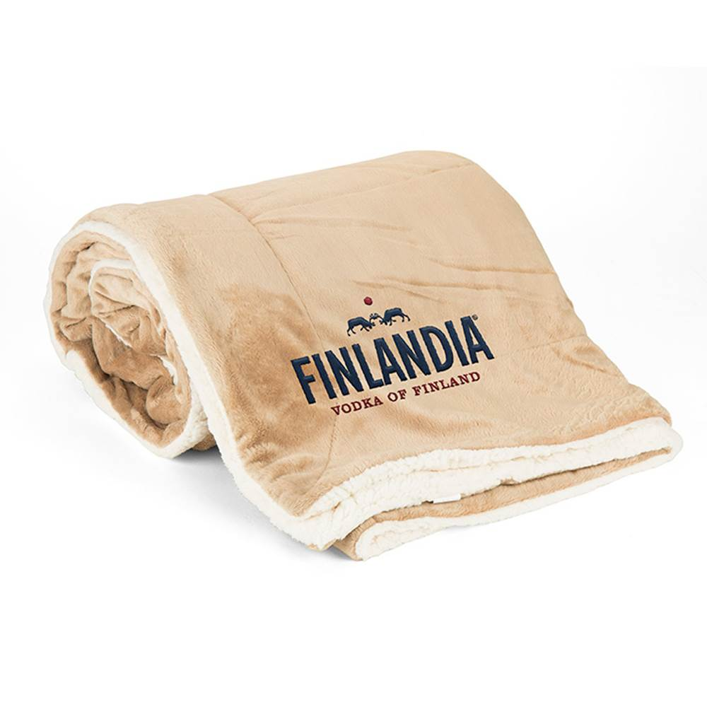 Mink Sherpa Blanket - Solid - Personalization Available