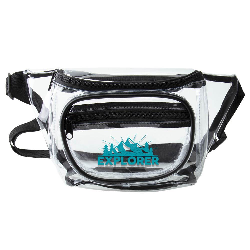 Clear Fanny Pack - Personalization Available