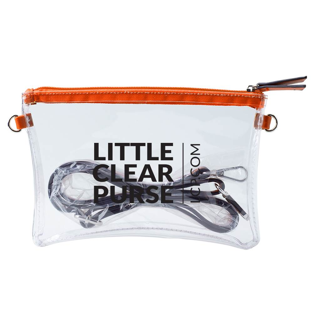 Clear Crossbody Purse - Personalization Available