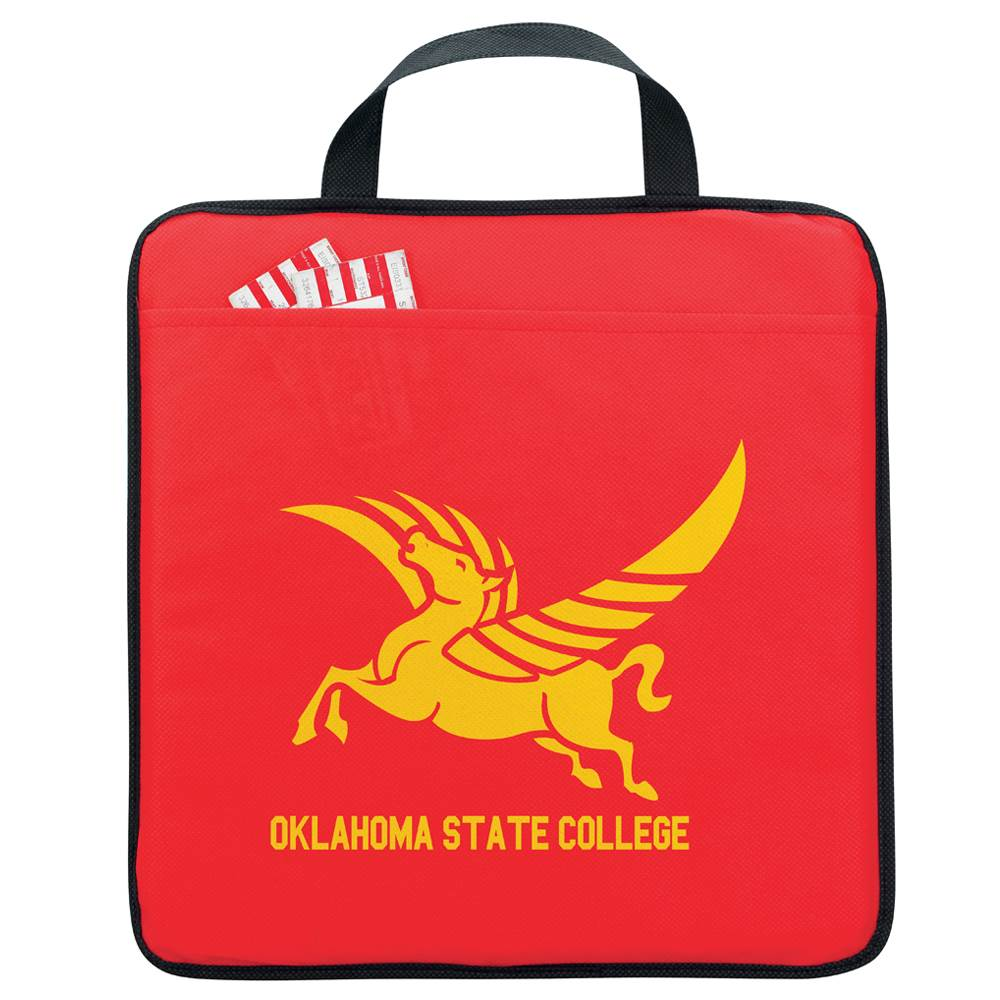 Non-Woven Stadium Cushion - Personalization Available