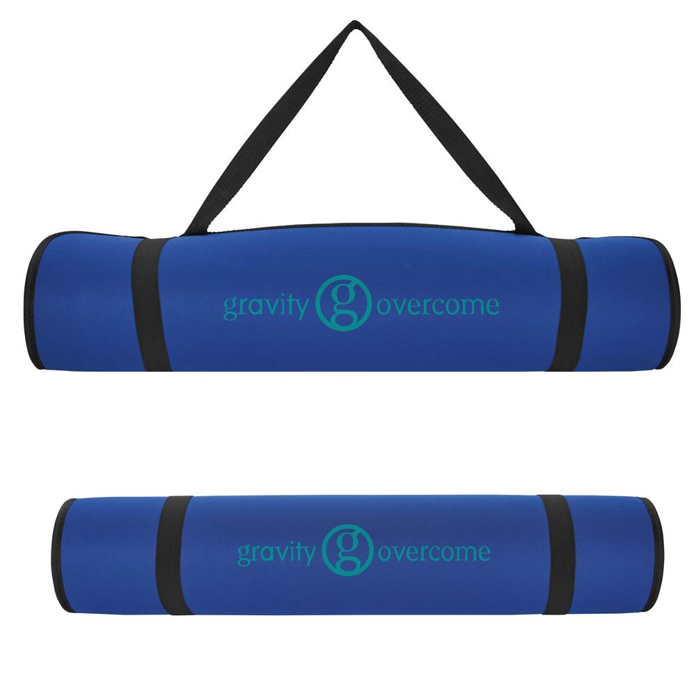 Yoga Mat With Shoulder Strap - Personalization Available