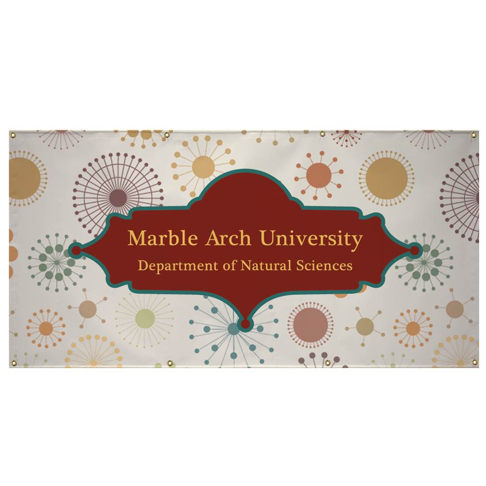 13-Oz. Vinyl Banner 3' x 6' - Full-Color Digital Personalization Available