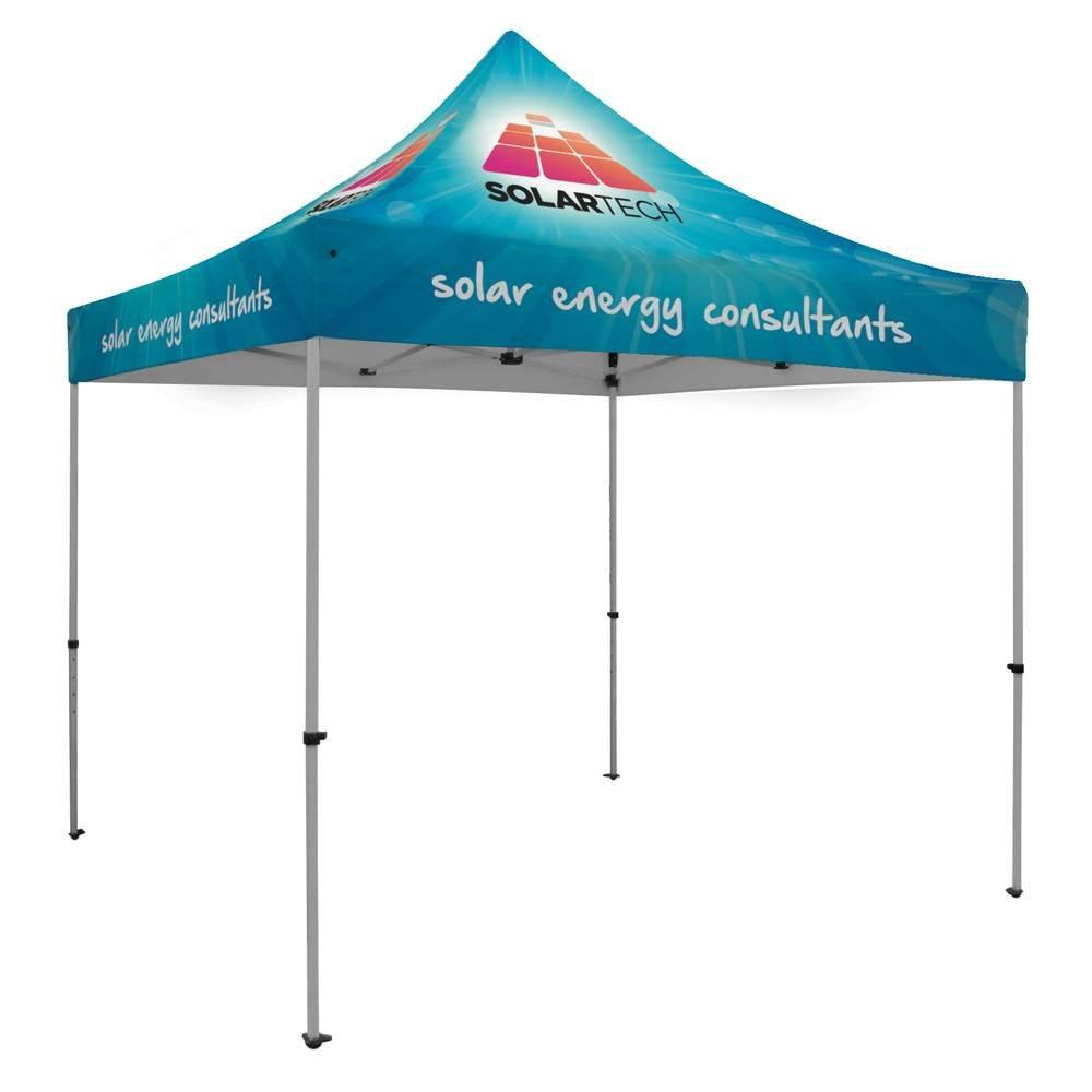 Premium Aluminum 10' Tent Kit - Full-Color Dye-Sublimation Personalization Available