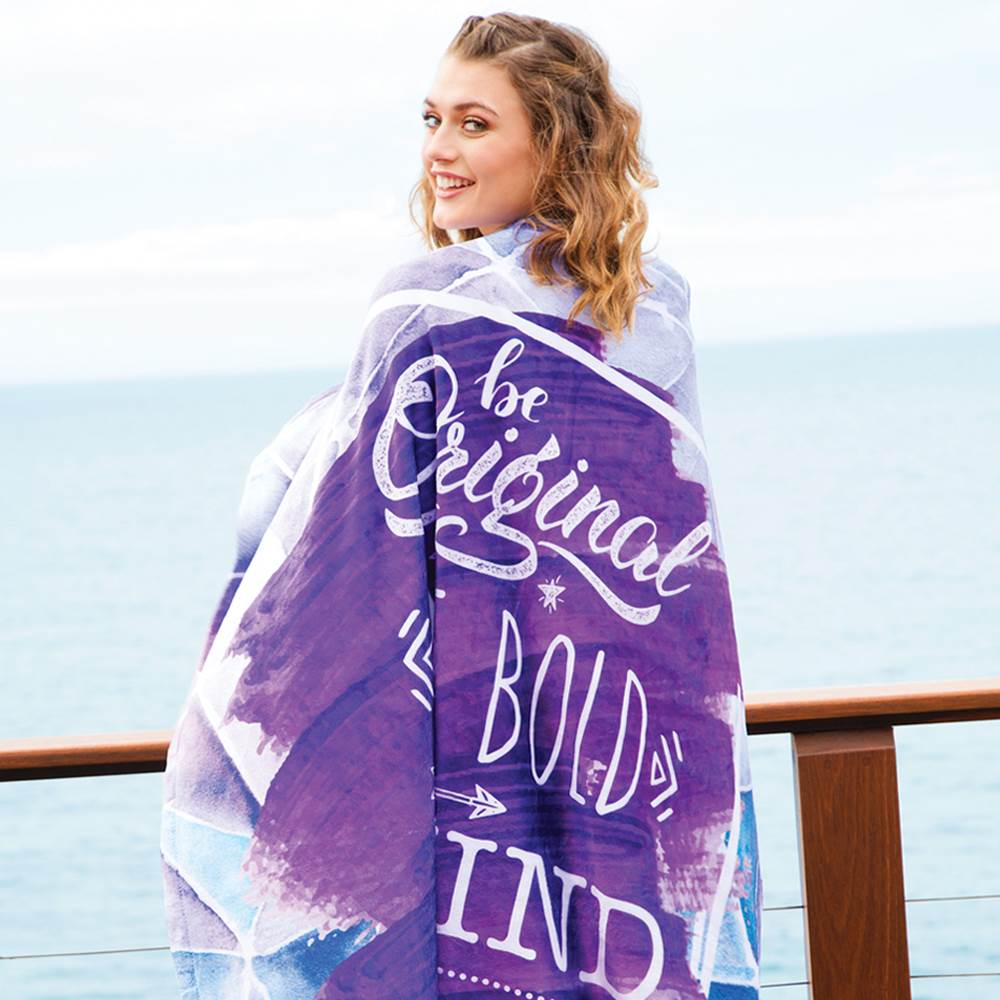 Tahoe Microfleece Throw - Full-Color Dye Sublimation Personalization Available