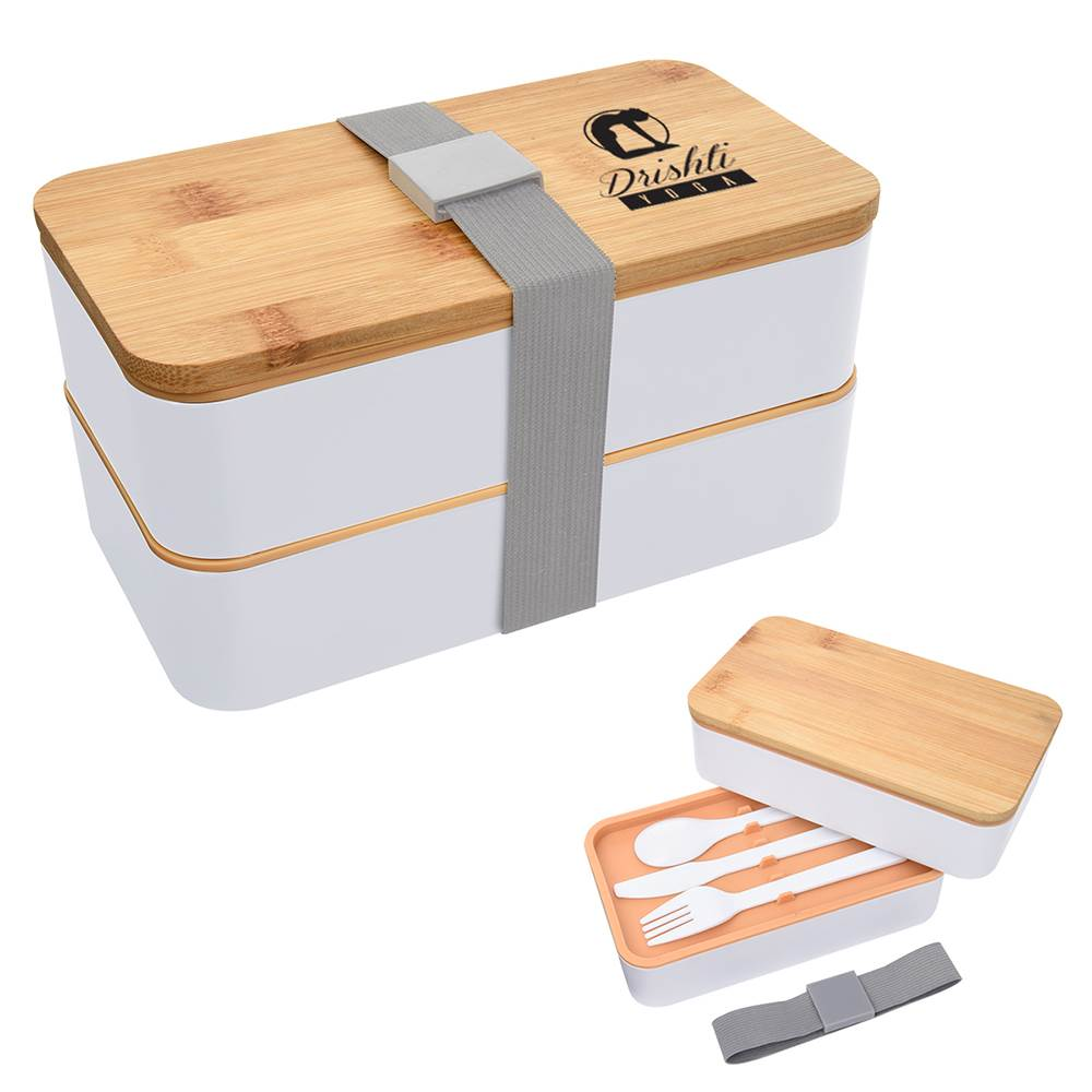 Stackable Bento Lunch Set - Personalization Available