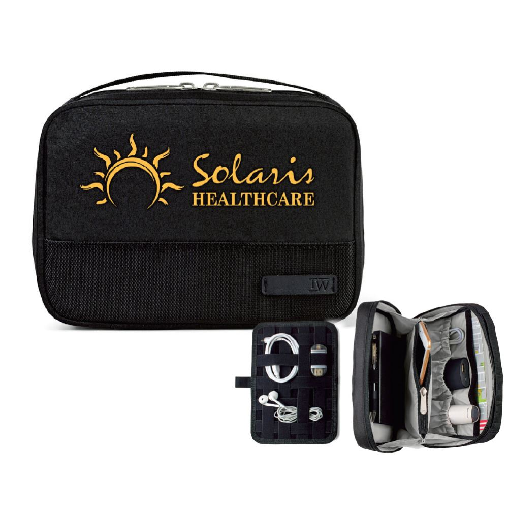 Travis & Wells® Ashton Travel Organizer - Personalization Available