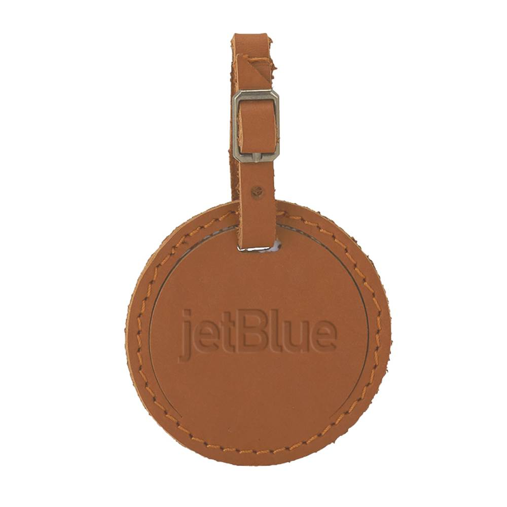 Culver Round Luggage Tag - Debossed Personalization Available