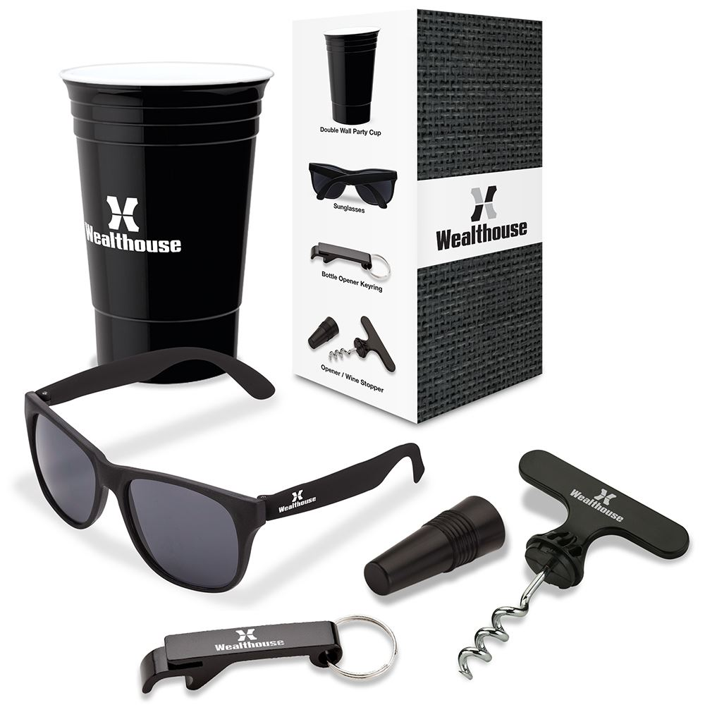 Festival 4-Piece Picnic Gift Set - Personalization Available