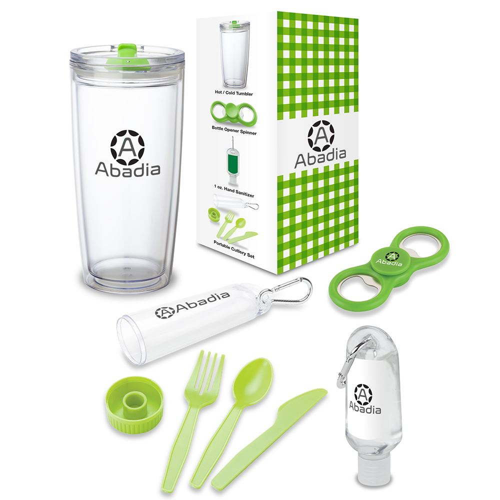 Excursion 4-Piece Picnic Gift Set - Personalization Available