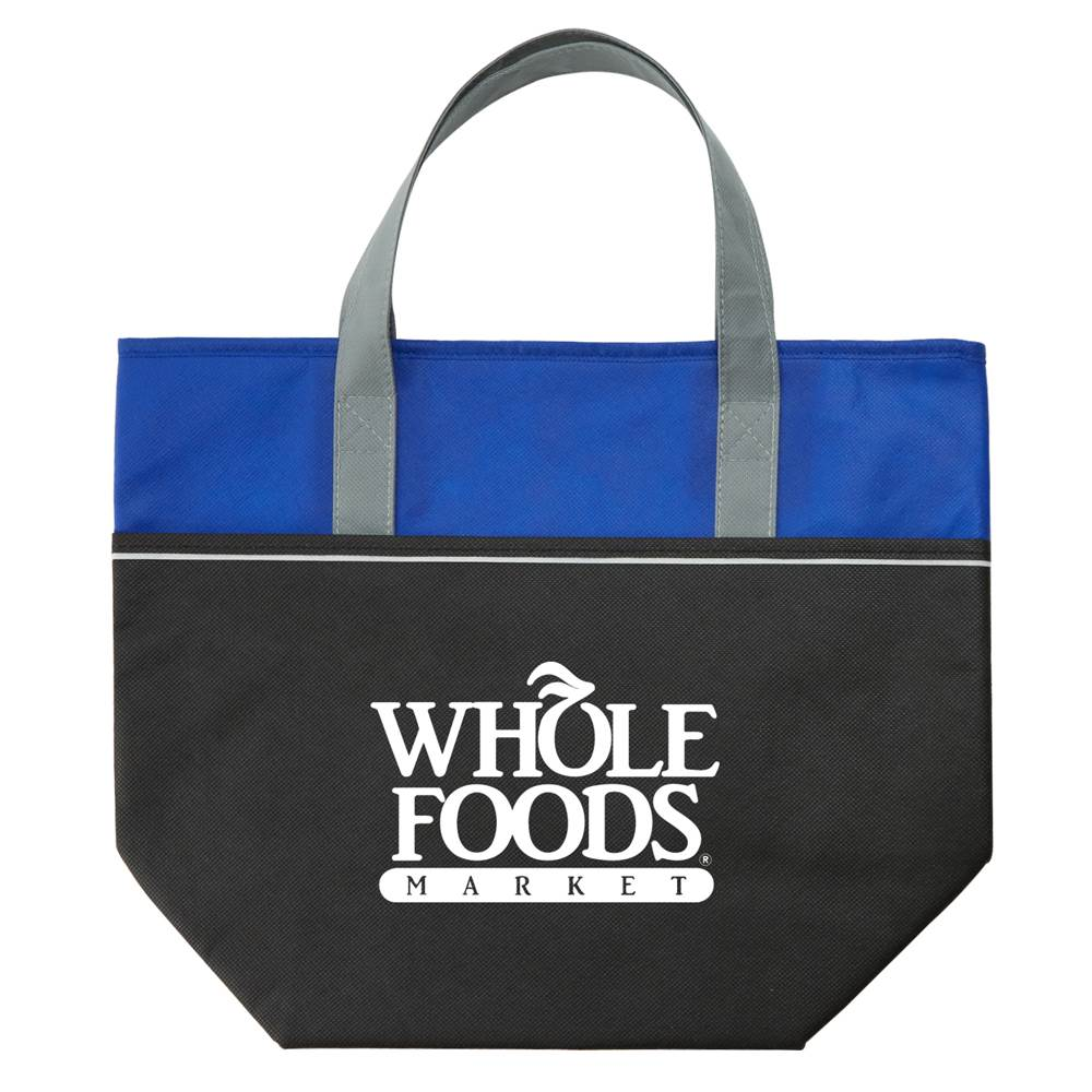 Large Non-Woven Carry-It™ Cooler Tote - Personalization Available