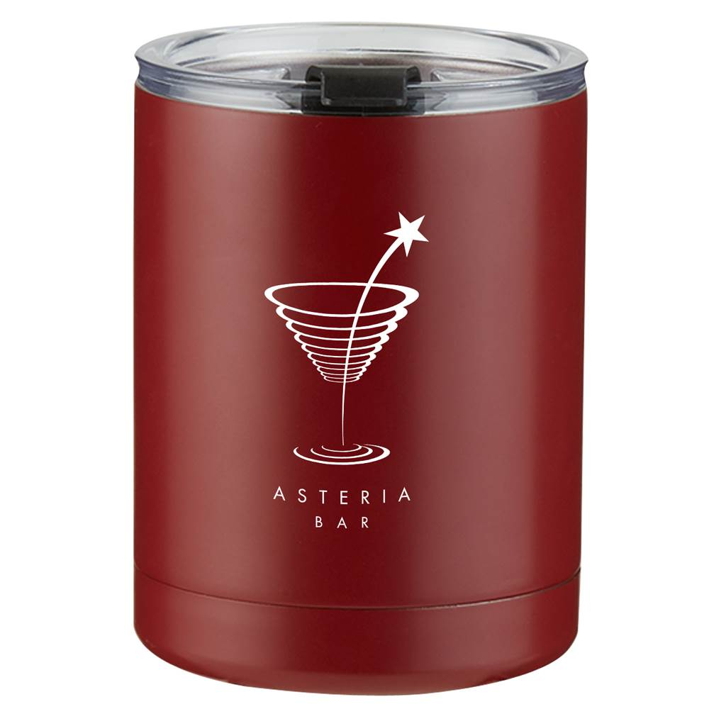 Stainless Steel Low Ball Tumbler 10-Oz. - Personalization Available