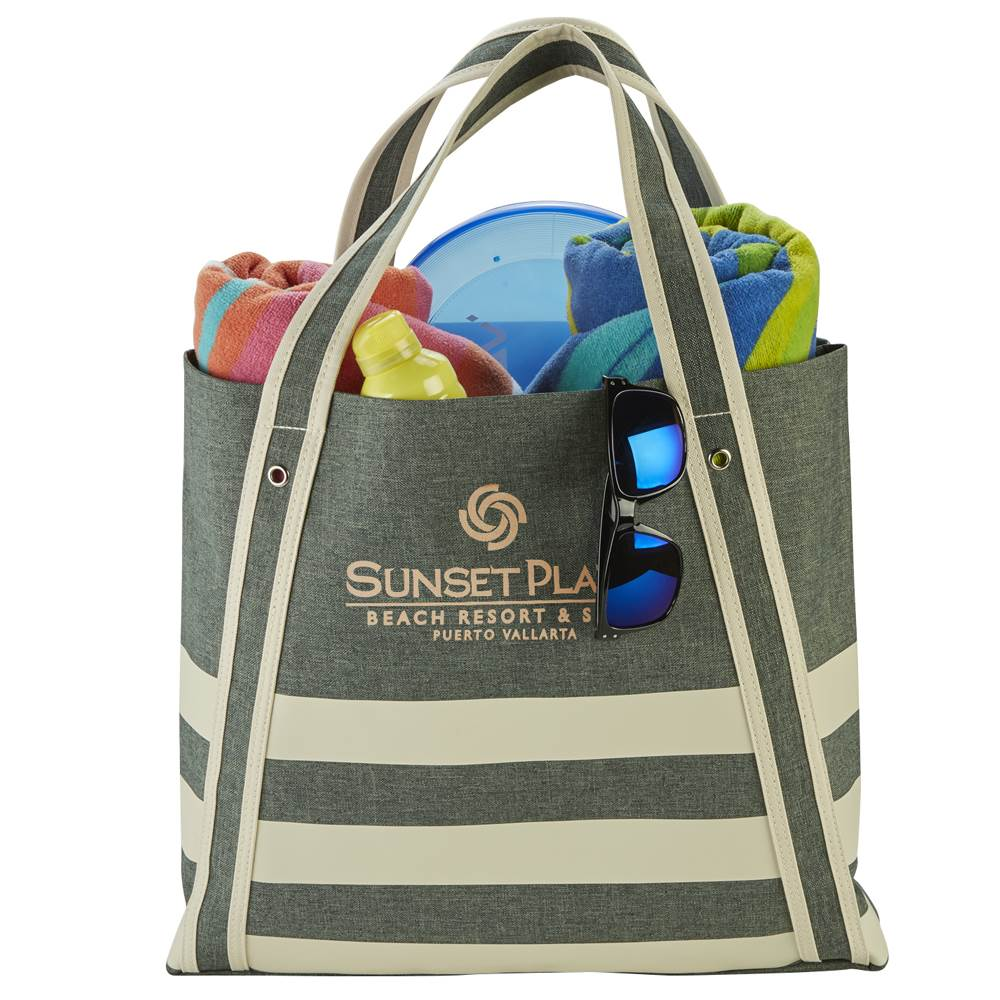 Seaport Boat Tote - Personalization Available