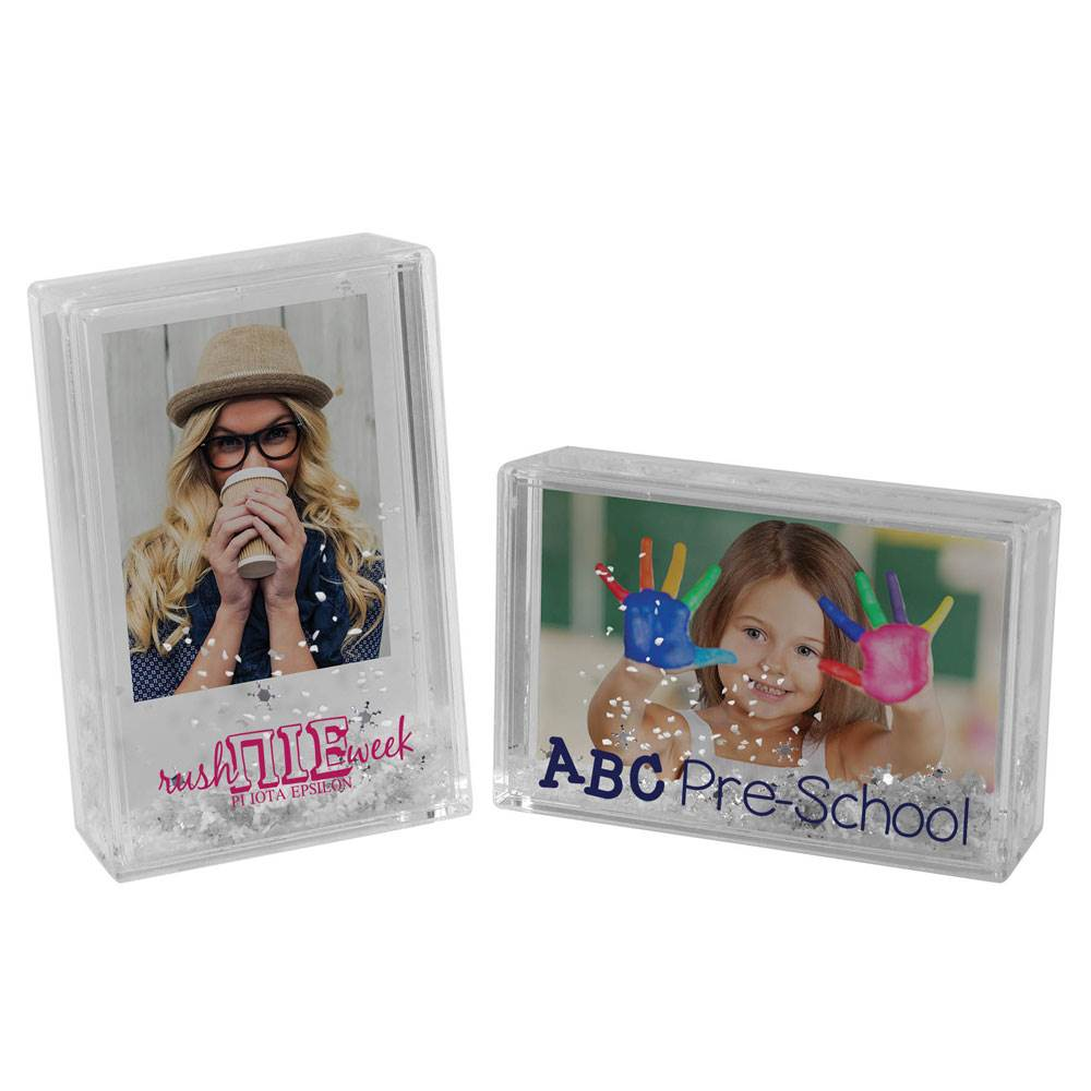Instax Mini Snow Picture Frame - Personalization Available