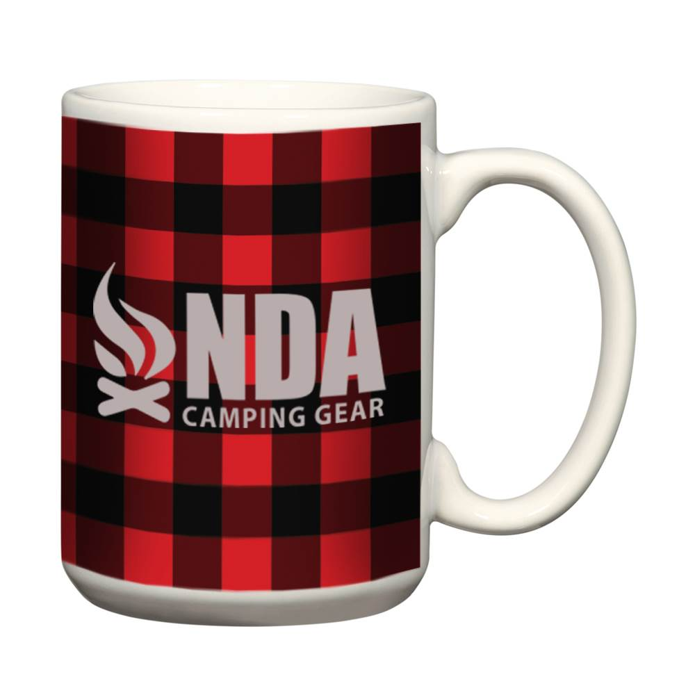 Northwoods Buffalo Plaid Mug 15-Oz. - Personalization Available